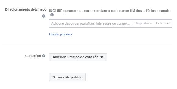 Criar Campanha no Facebook - Passo 2.2