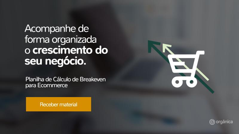 Banner - Planilha de Cálculo de Breakeven para E-commerce