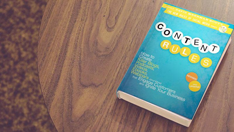 Inbound Marketing - Dica de livro sobre Inbound - Contet rulles