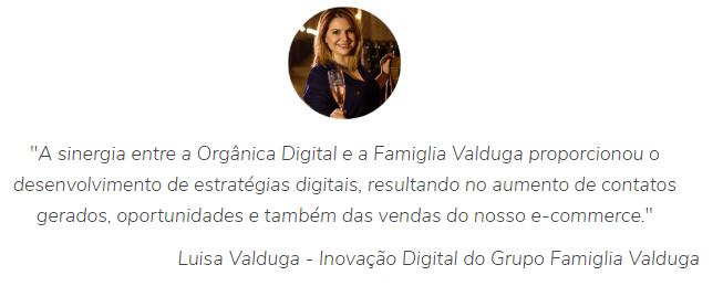 Depoimento Luisa Valduga - Orgânica Digital